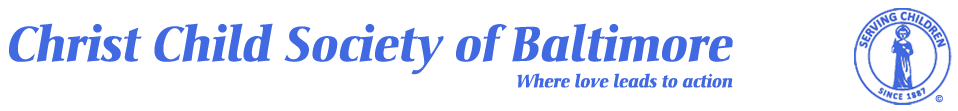 Christ Child Society of Baltimore Logo